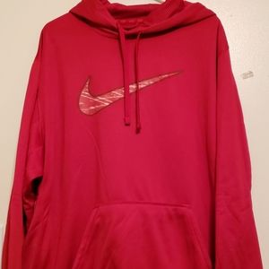 Nike therma fit hoodie/sweatshirt. XXL